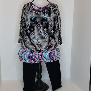 Bonnie Jean 2 piece outfit size 2T
